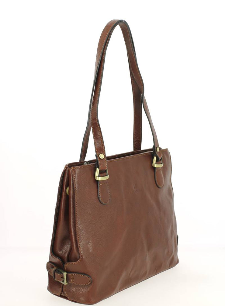 Sac HEXAGONA Empire 111322B Marron côté