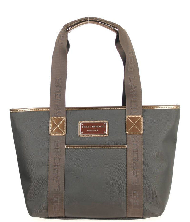 Sac-shopping-S-TED-LAPIDUS-Tonic-Marron-TL4011-face