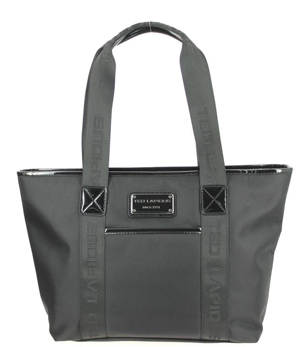 Sac-shopping-S-TED-LAPIDUS-Tonic-Noir-TL4011-face