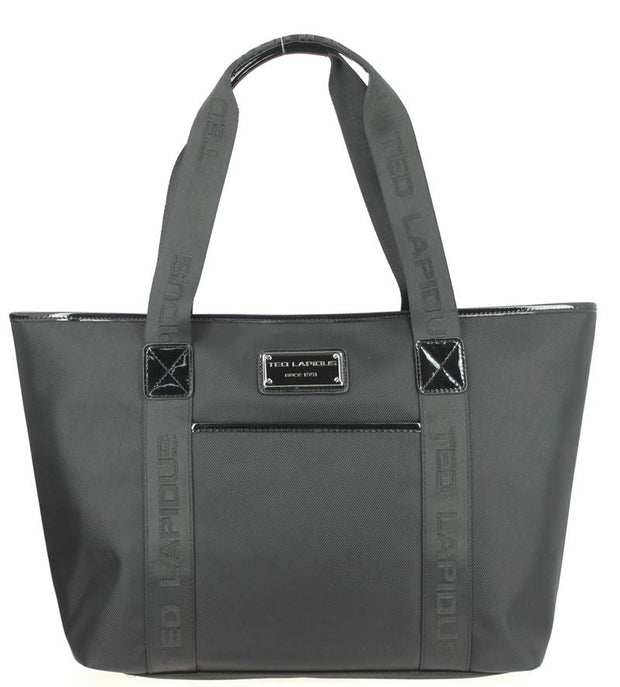 Sac-shopping-TED-LAPIDUS-Tonic-TLNY4010-Noir-face