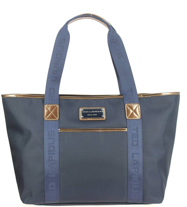 Sac-shopping-TED-LAPIDUS-Tonic-TLNY4010-bleu-face