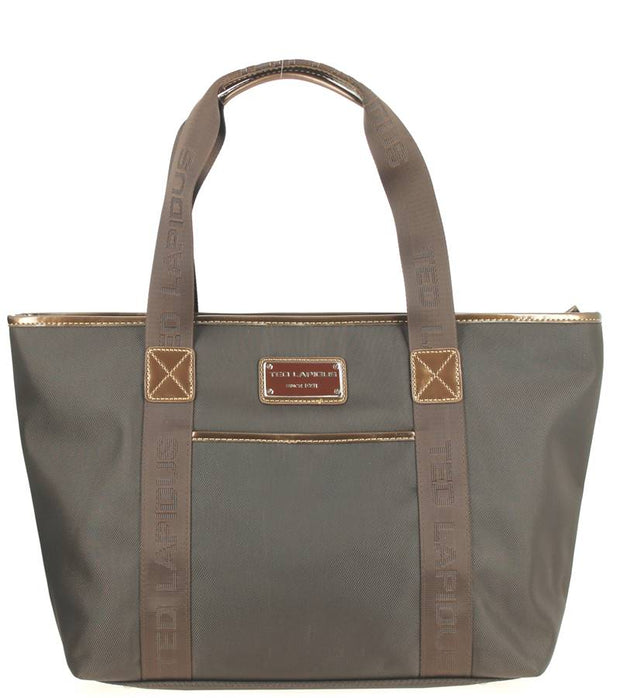 Sac-shopping-TED-LAPIDUS-Tonic-TLNY4010-Marron-face