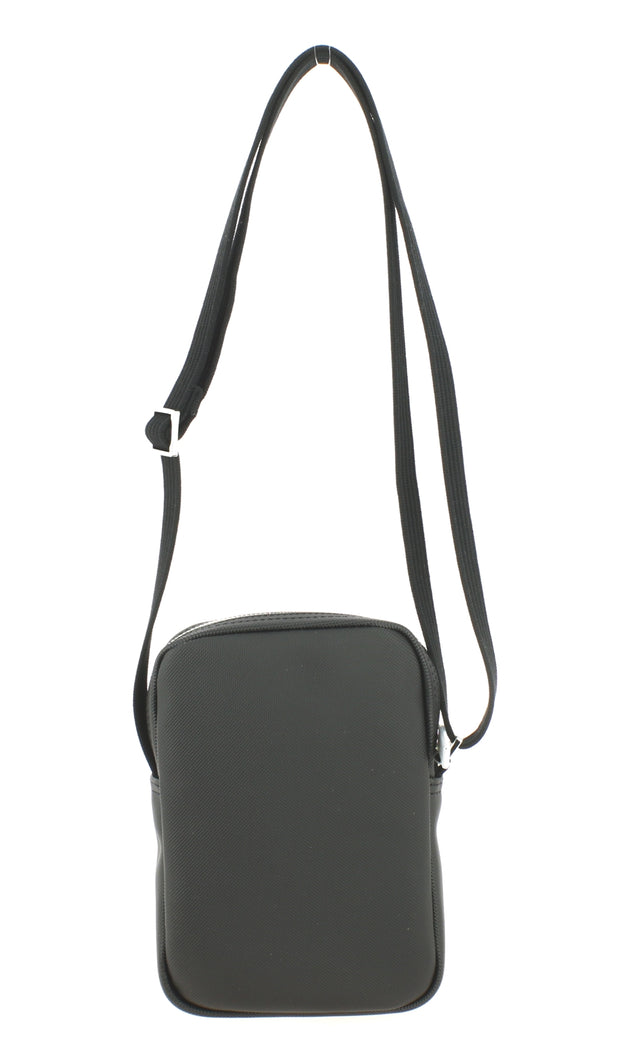 Sac bandoulière Lacoste vertical camera bag noir dos
