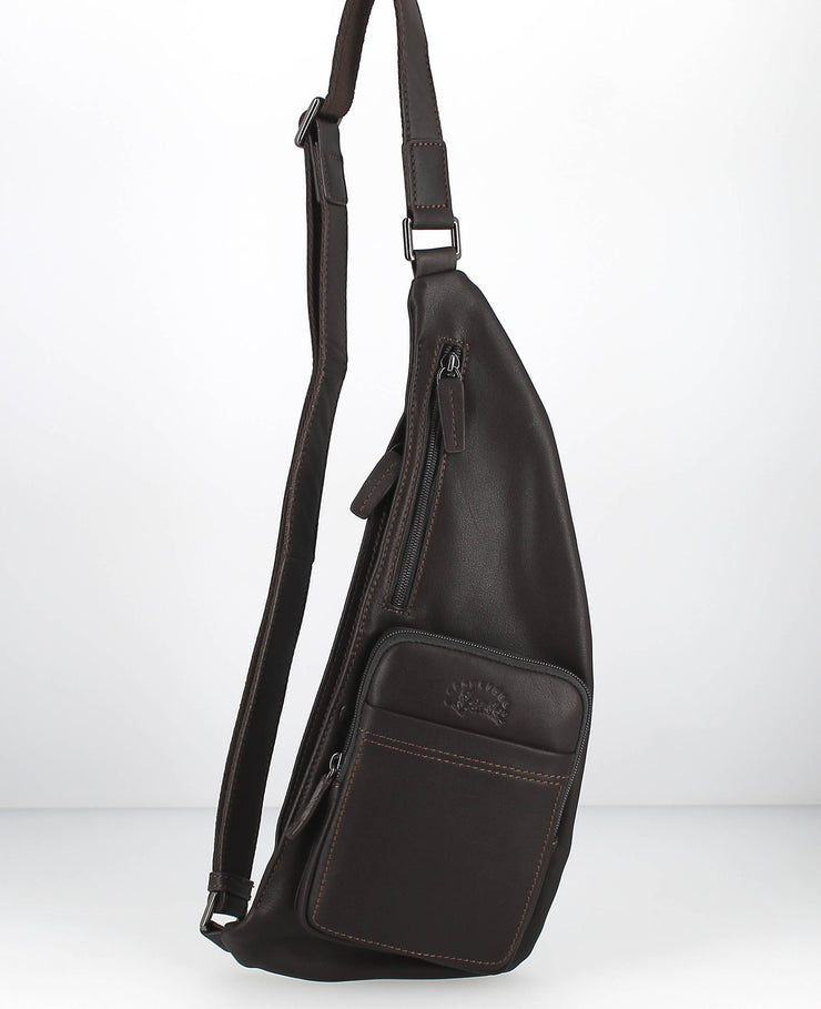 Sac body Francinel-Marron face