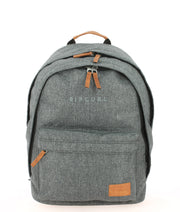 Sac à dos RIP CURL Charcoal Grey face