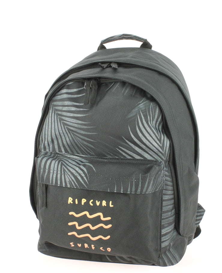 Sac à dos RIP CURL Glow Wave BLACK face