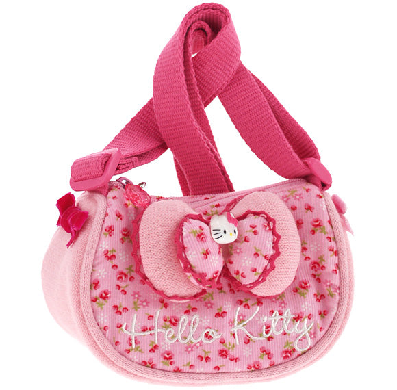 Sac Hello Kitty TRACOLLINA RIBBON PINK FLOWERED