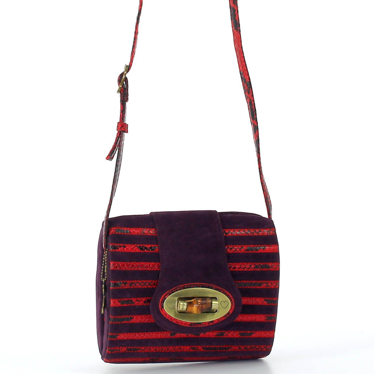 Sac Lollipops NOTTE SIDE Rouge BANDOULIERE