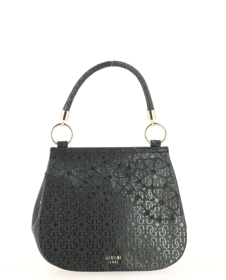 Sac à main bandoulière GUESS SG696119-Black face