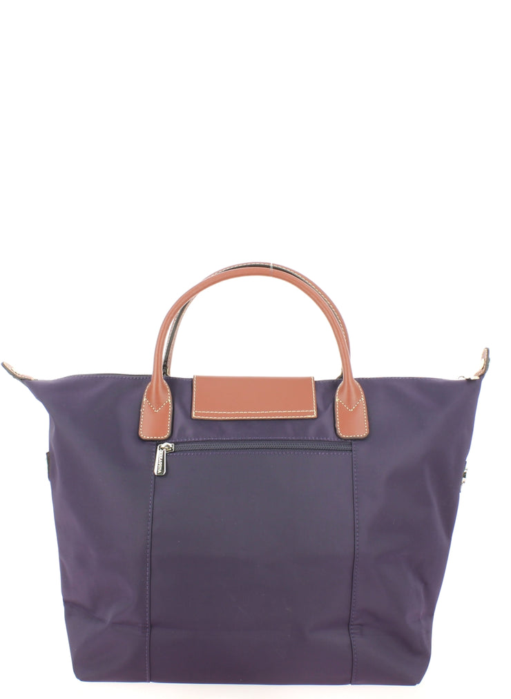 Sac à main Hexagona 172477A Violet dos