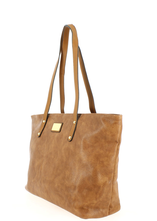 Sac shopping Filles Gallantry Marron