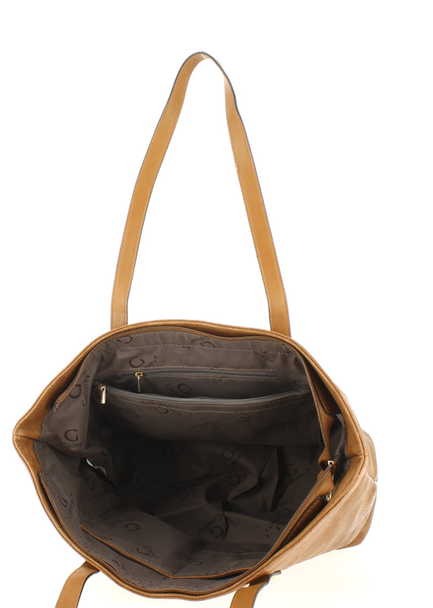 Sac shopping Filles Gallantry Marron-ouvert