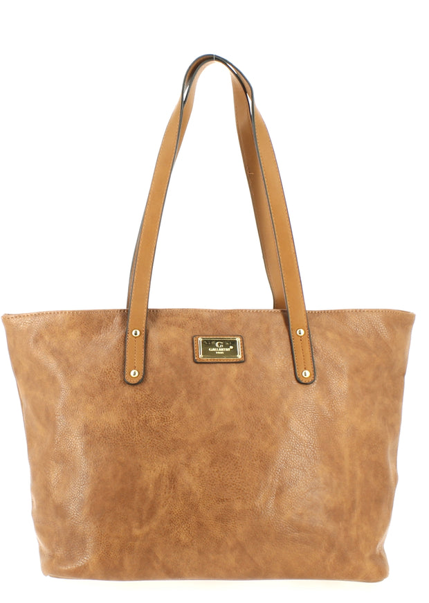 Sac shopping Filles Gallantry Marron-face