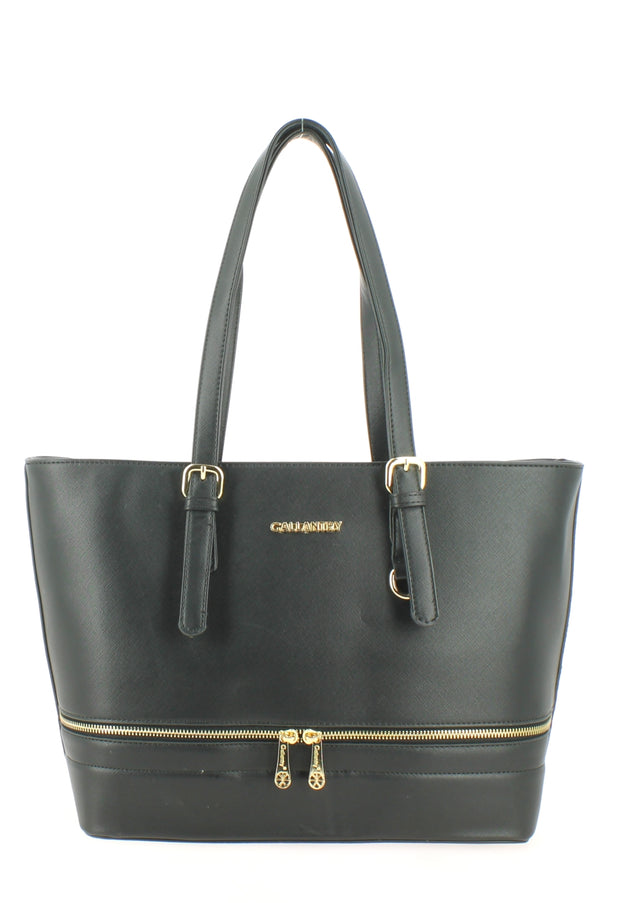 Sac shopping Filles Gallantry Saint tropez Noir face