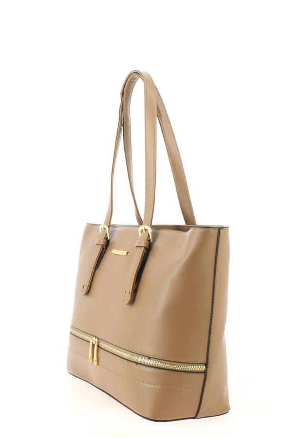 Sac shopping Filles Gallantry Saint tropez taupe