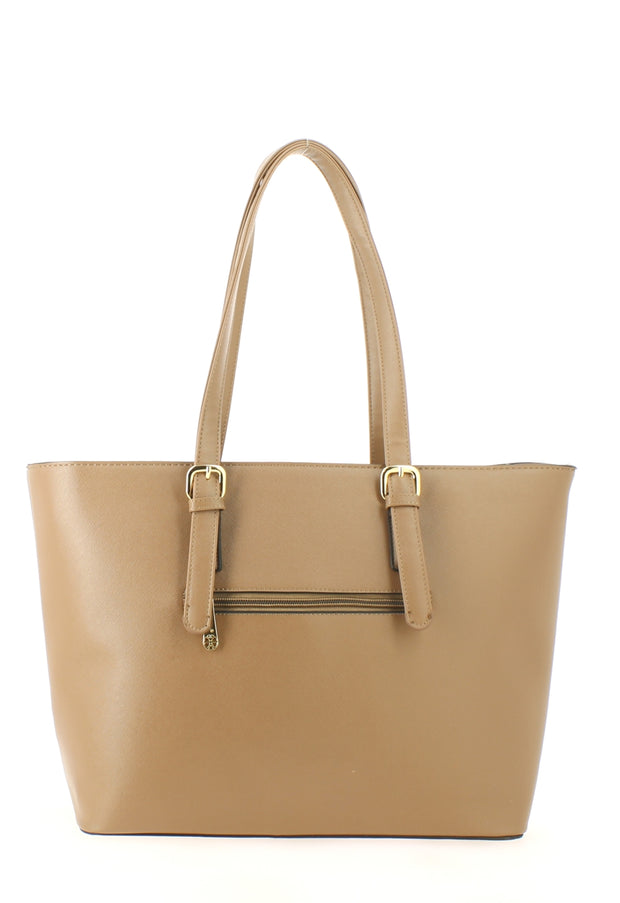 Sac shopping Filles Gallantry Saint tropez taupe-dos