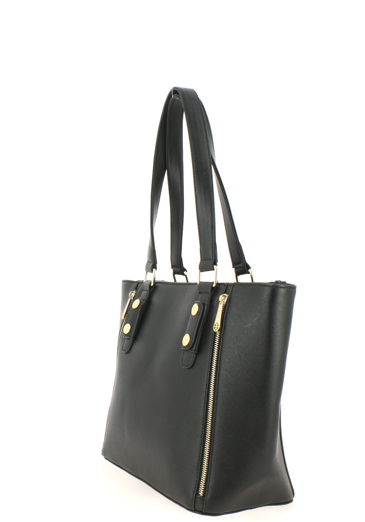 Sac shopping Filles Gallantry Zip Noir