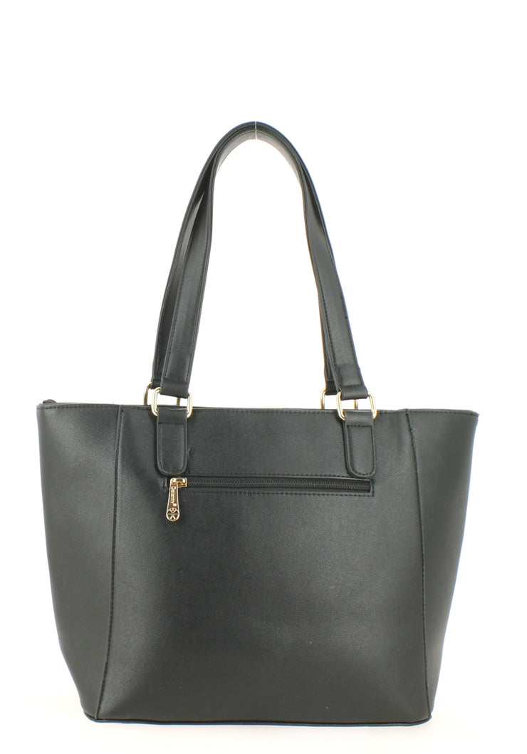 Sac shopping Filles Gallantry Zip Noir-dos