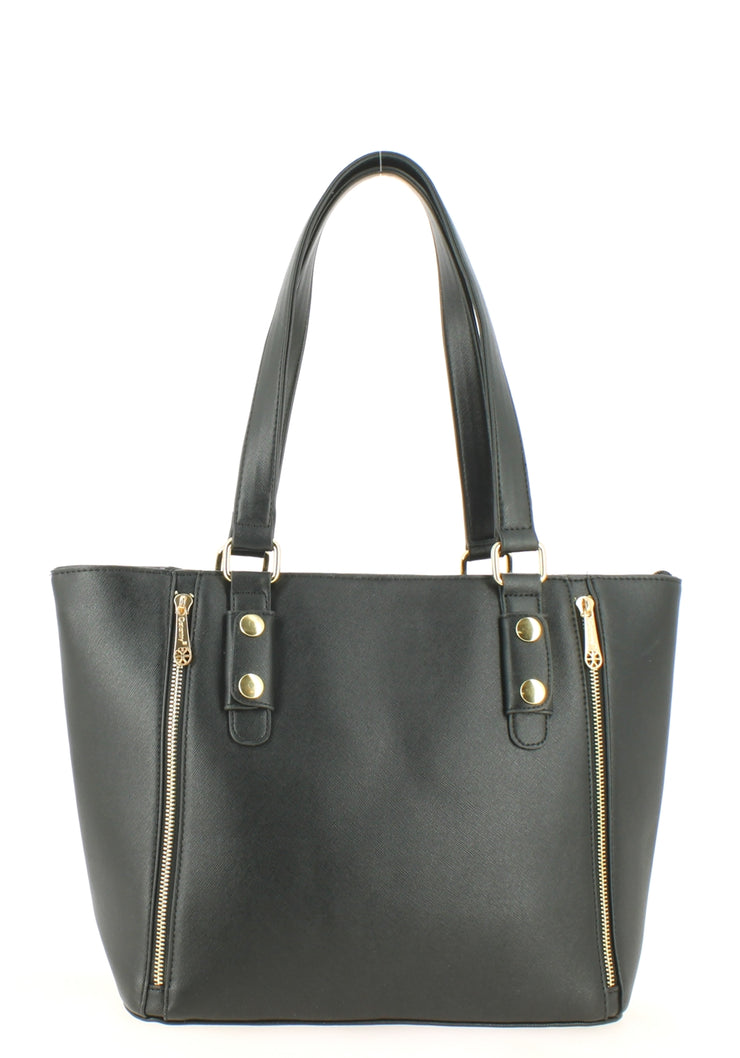 Sac shopping Filles Gallantry Zip Noir-face