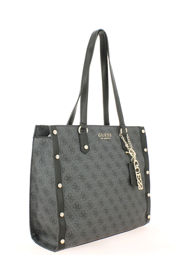 Sac SHOPPING Guess SG699123-coal coté1