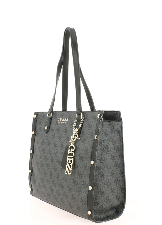 Sac SHOPPING Guess SG699123-coal coté2