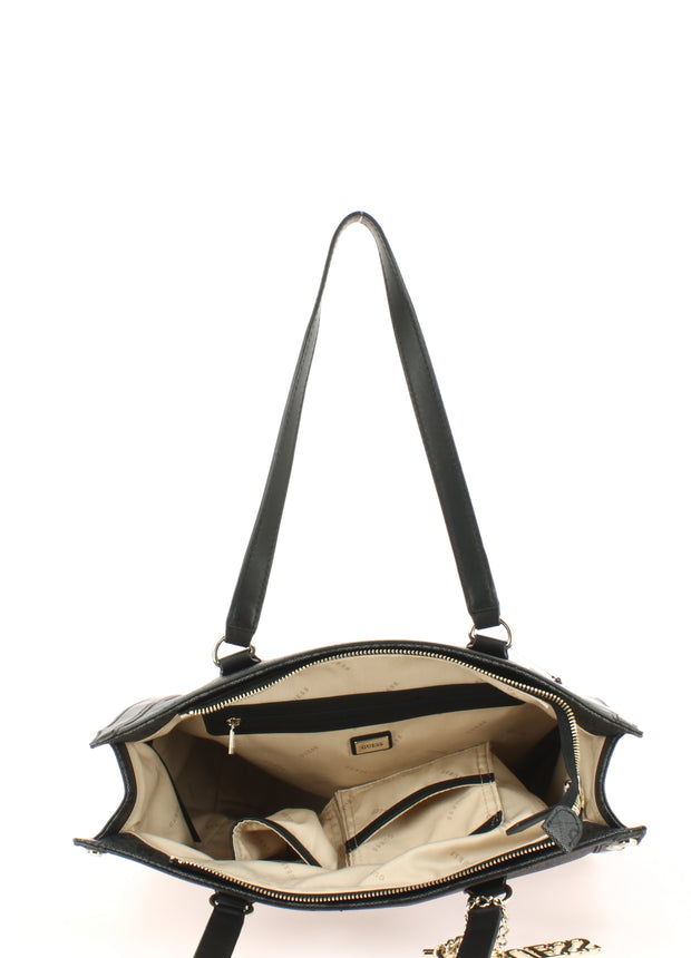 Sac SHOPPING Guess SG699123-coal ouvert