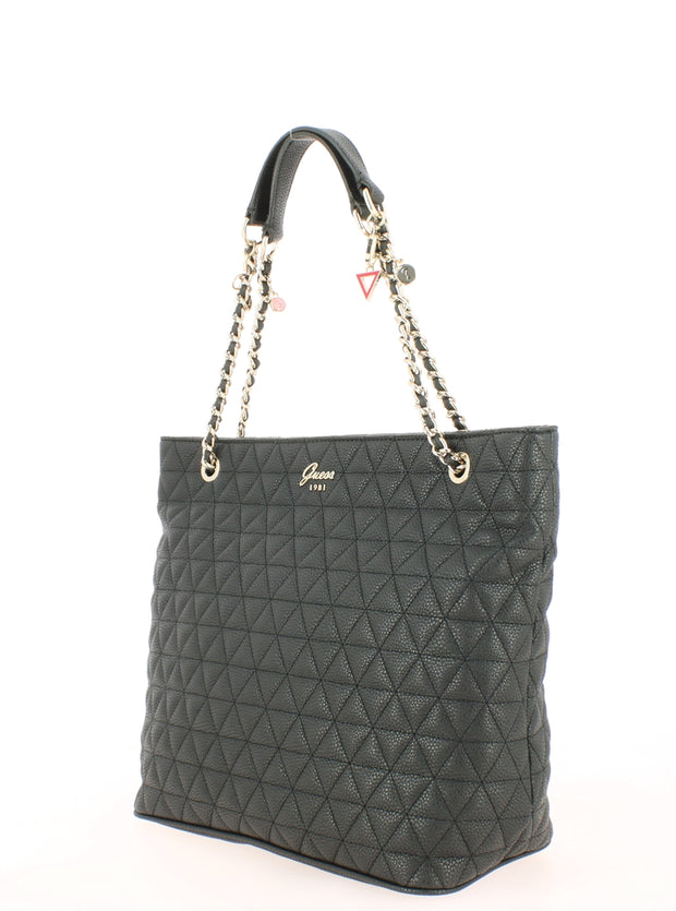 Sac SHOPPING Guess VG698823-Black coté2