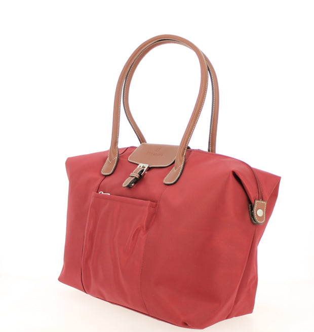 Sac shopping Hexagona-171819-bordeaux COTE