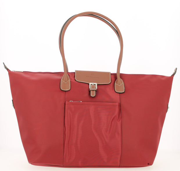 Sac shopping Hexagona-171819-bordeaux FACE