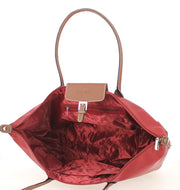 Sac shopping Hexagona-171819-bordeaux INTERIEUR