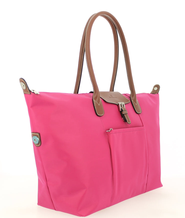 Sac shopping Hexagona-171819-Fushia PROFIL
