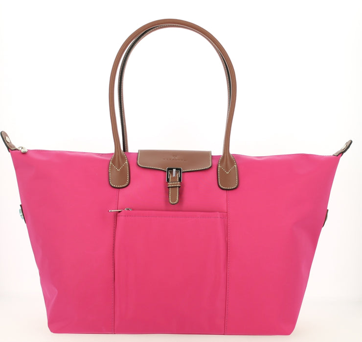 Sac shopping Hexagona-171819-Fushia FACE