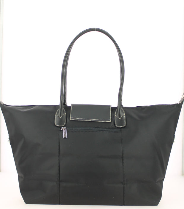 Sac shopping Hexagona-171819-Noir-noir DOS