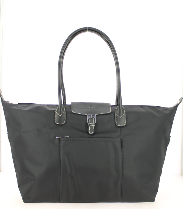 Sac shopping Hexagona-171819-Noir-noir FACE