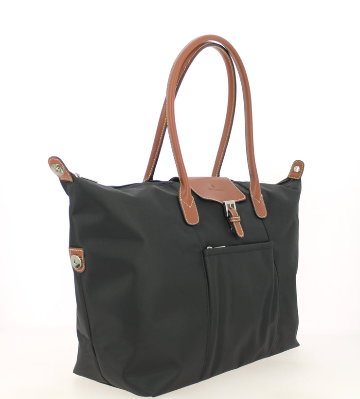 Sac shopping Hexagona-171819-Noir COTE