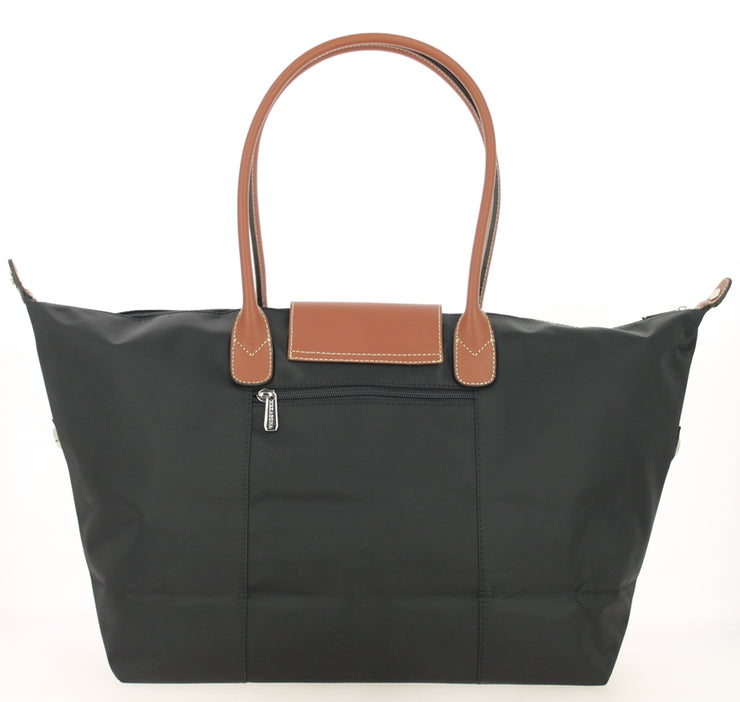 Sac shopping Hexagona-171819-Noir DOS