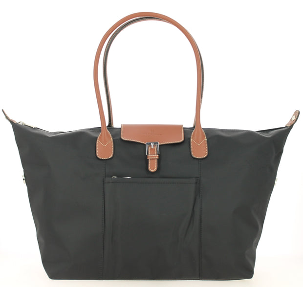 Sac shopping Hexagona-171819-Noir face