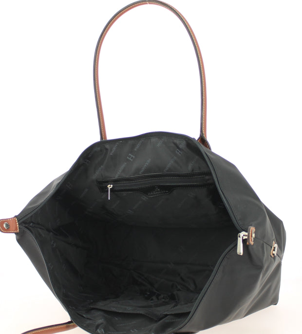 Sac shopping Hexagona-171819-Noir INTERIEUR