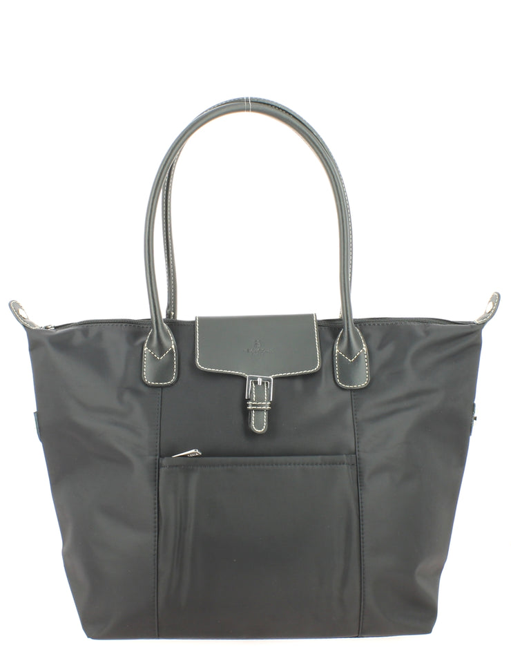 Sac shopping Hexagona Gilance-Noir 172477 face