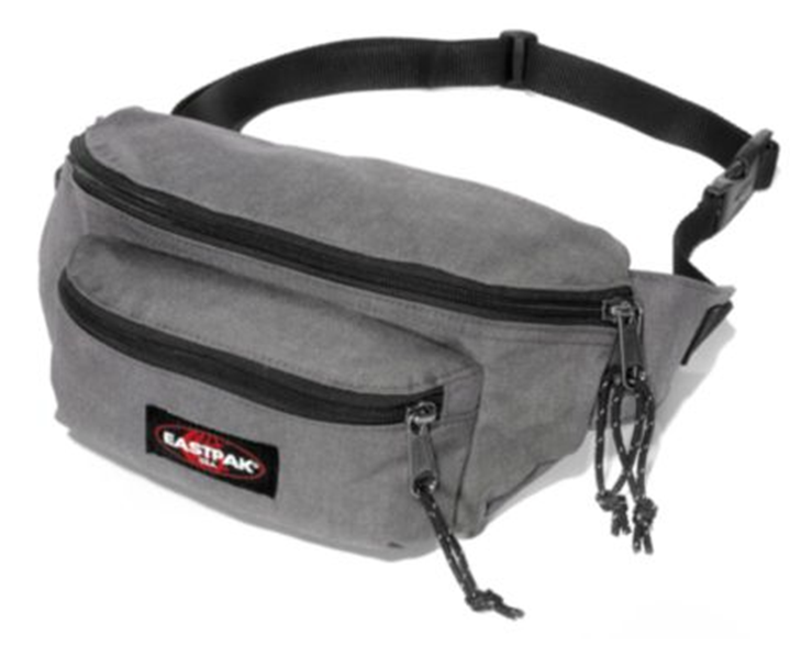 Banane EASTPAK DOGGY BAG SUNDAY GREY
