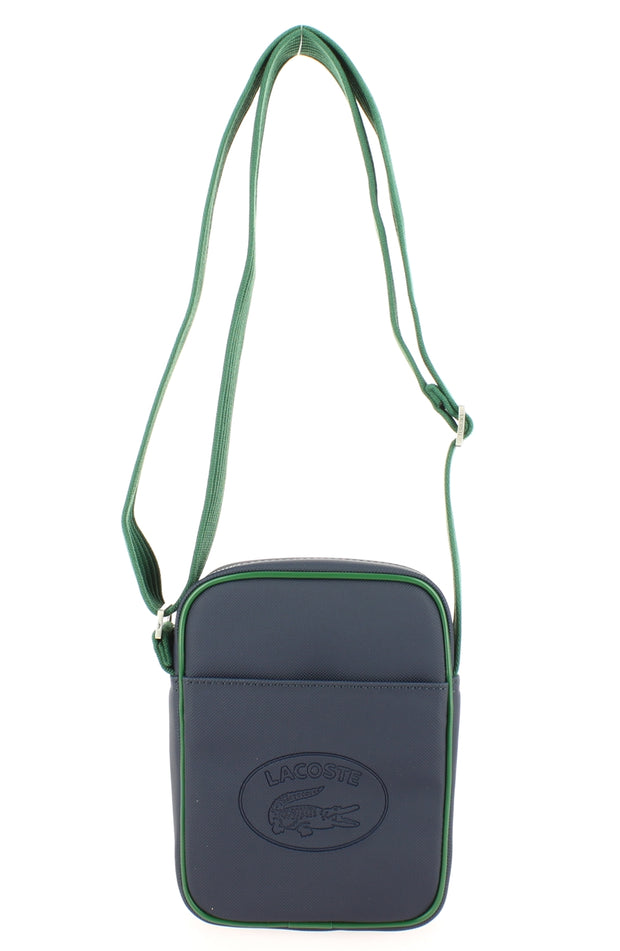 Sacoche Lacoste New Vertical Camera NH2874MX C36 Peacoat Green