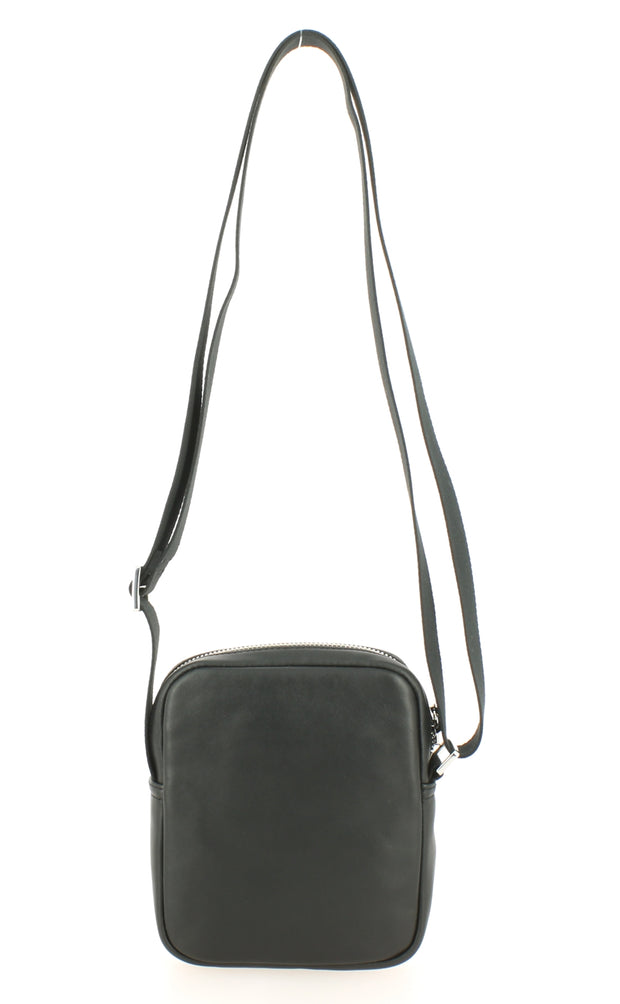Sacoche LACOSTE NH2651IC-000 cuir noir dos