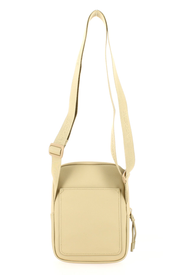 Sacoche LACOSTE S Flat Crossover Bag Beige dos