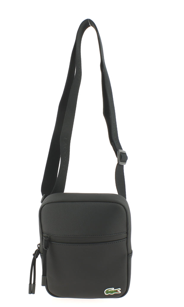 Sacoche LACOSTE S Flat Crossover Bag Black