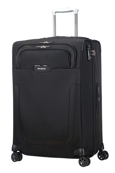 Valise Samsonite Duosphere SPINNER 67 CM EXP NOIR face