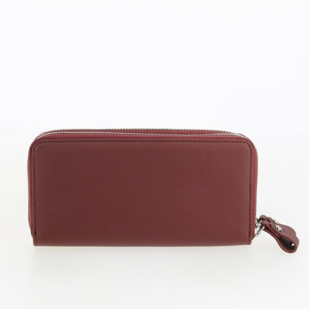 orte-monnaie Lacoste Double Zip Wallet Rio Red dos