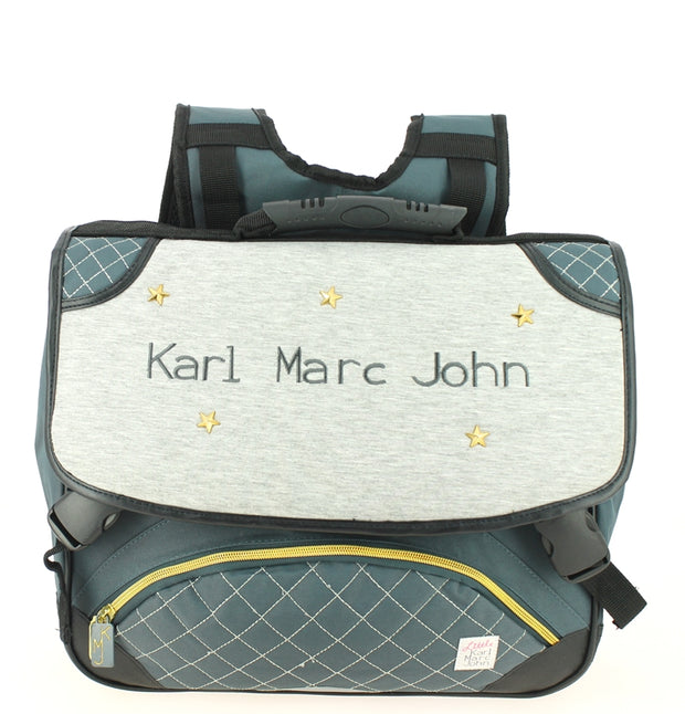 Cartable 38 cm Little Karl Marc John 671936 Gris face