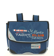 Cartable 35 cm yacht club 669398 bleu face
