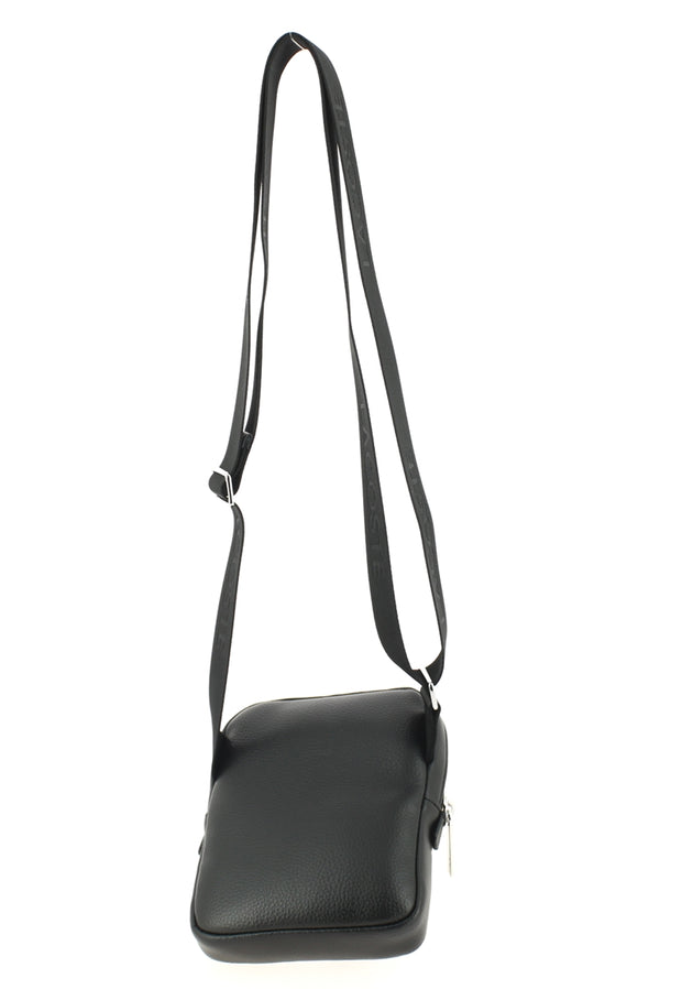 Sacoche LACOSTE Medium Flat Crossover Bag Black dos