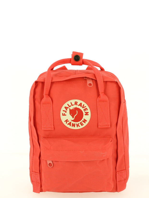 Sac à dos FJALLRAVEN Kanken Mini Peach Pink Face